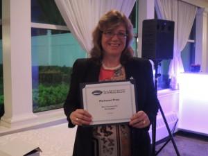 Manhasset Press editor Elizabeth Johnson scored a major coup nabbing Second Place for Best Community Newspaper. (Karen Talley for the Port Washington News nailed third). Congrats Liz!