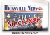 Hicksville folded paper