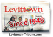 Levittown folded paper
