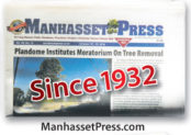 Manhasset folded paper