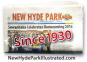 New Hyde Park folded paper
