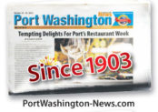 Port Washington folded paper