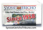Syosset Jericho folded paper